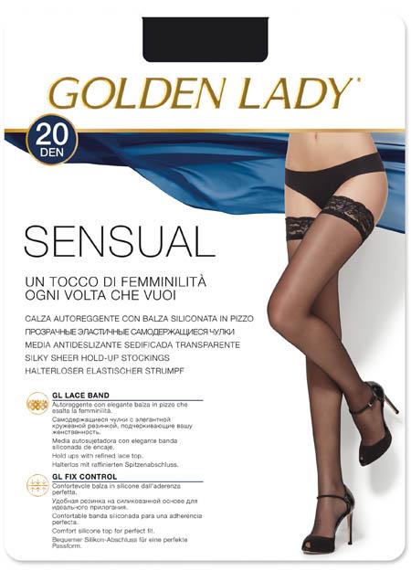 Καλσόν  καλτσοδέτα GOLDEN LADY Sensual 20 80VVA