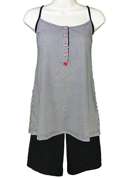 Πυτζάμα γυναικεία καλοκαιρινή VAMP 12408