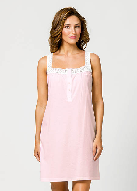 Νυχτικιά καλοκαιρινή HARMONY 300806 ροζ