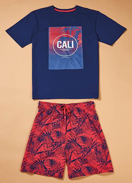 Men's pajamas MELISSA BROWN CAL.PSH2marin