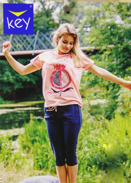 Πυτζάμα γυναικεία καλοκαιρινή KEY LNS600A20