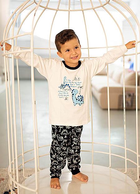 Πυτζάμα παιδική χειμερινή HAPPY FAMILY 198